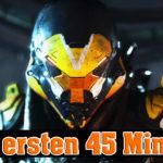 Anthem: Ich spiele die ersten 45 Minuten des Loot-Shooters