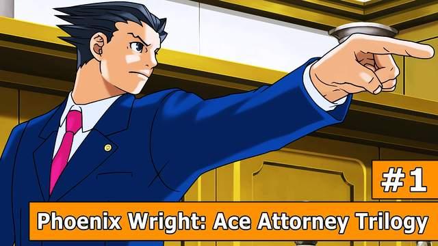 Phoenix Wright: Ace Attorney Trilogy - Der Playthrough zum besten Anwalt der Welt